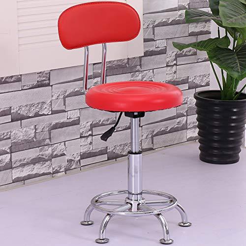 Ergonomisch draaibare zadelstoel, duurzame stoel, kantoor thuis, soepel, lange werktijden, belastbaar tot 150 kg. modern size oranje