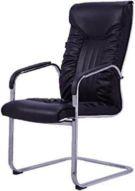 Office Desk Chair Conference Chair, Comfortable PU Soft Chair Computer Desk and Chair Office Chair Home Chair Bedroom Chair (