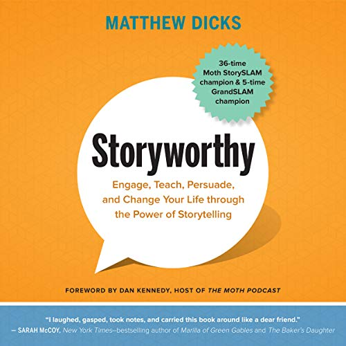 Storyworthy audiobook cover art