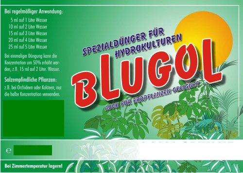 Blugol Hydrokultur Spezial-Dünger 500ml Flüssig