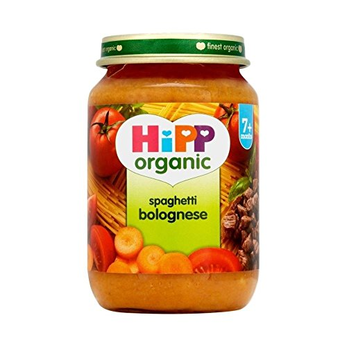 Hipp Organic Spaghetti Bolognese 7mth + (190g) - Packung mit 2