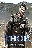 "Thor: The Power of Thunder ; Notebook Journal 6"" x 9""..."