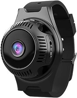 Cámara Inteligente Mini Deportes cámara Web al Aire Libre sin Hilos de WiFi de Alta definición de 160 Grados Ultra Gran Angular y vídeo de Movimiento Detección con Correa