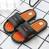 TQJ Apatillas de Baño Antideslizantes Zapatillas De Baño Zapatos De Ducha Baño Sandalia De La Zapatilla Para Mujer Y Para Hombre Baño Piscina Secado Rápido Masaje Espuma Cuarto De Baño Zapatillas Sand