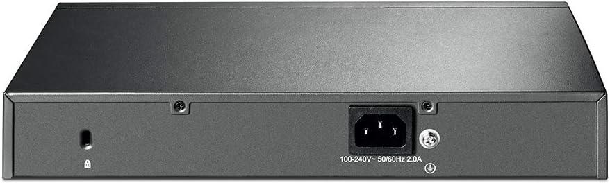 Smart Switch 48 Gigabit, RJ45 Port inkl. 4 SFP Port, L2+ Feature, L2//L3//L4 QoS, IGMP snooping, unterst/ützt IPv6 TP-Link T1600G-52PS Gigabit PoE