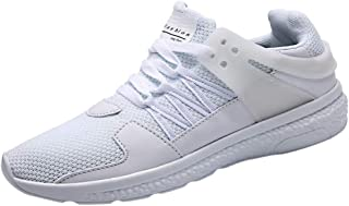 Lailailaily Men's Fashion Low-Top Mesh Casual Student Breathable Running Sneakers Shoes