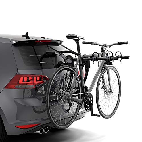 Thule Gateway Pro Trunk Bike Rack, 3 Bike, Black, One Size