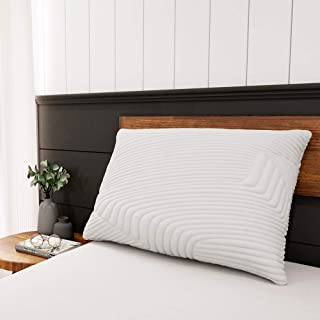Sweetnight Bed Pillows for Sleeping, Soft Queen Pillows- Neck Pain Relief & Support, Adjustable Loft Shredded Gel Memory Foam Pillow for Side/Back/Stomach Sleeper, Machine Washable Pillow Cover