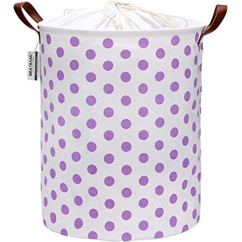 purple canvas basket - 7