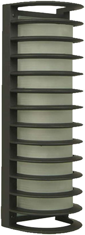 Moderne minimalistische Outdoor Wandleuchte Wandlampen Retro Engineering Lampe Auenwand Laterne Badezimmer Lampe Balkon Rost-feuchtigkeitsBestendig Wasserdicht IP44 (Farbe   Style C)