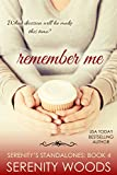 book cover art for Remember Me by Serenity Woods