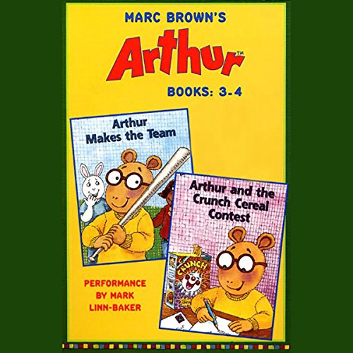 Arthur: Books 3-4 audiobook cover art
