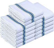 Utopia Towels - Paño de Cocina Lavable a máquina de algodón Cocina Blanca Paños de Cocina Toallas de té Toallas (38 x 64 cm, Azul)