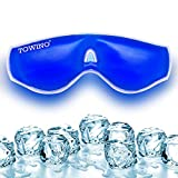 TOWINO® Cooling Gel Relaxing Eye Mask for Dark Circles, Dry Eyes, Cooling Eyes, Pain Relief, Redness, Eye Patches, Sleeping Cool Pad Suitable for All Family Members (Made In India)