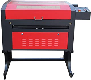 TEN-HIGH Laser Engraving Cutting Machine 400x700mm 60W CO2 Laser Engraver,Standard Version with USB Port, Include Rotary axis.