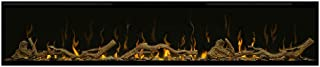 DIMPLEX IgniteXL 60-Inch Electric Fireplace w/Driftwood Log Kit - XLF60 & LF74DWS-KIT