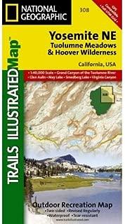 Yosemite Ne, Tuolumne Meadows & Hoover Wilderness: Trails Illustrated National Parks (Ti - National Parks) (
