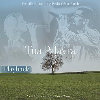 Tua Palavra (Your Words) [Playback]