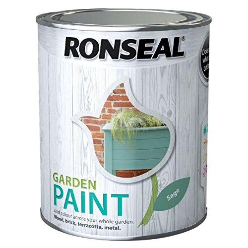 Ronseal RSLGPSA25L GPSA25L Garden Paint Sage 2.5 Litre