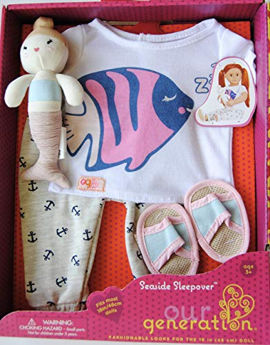 Our Generation Seaside Sleepover Pajama Party Outfit BD30340