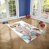 Oedim Alfombra Infantil Stay with Me para Habitaciones PVC | 95 x 133 cm | Moqueta PVC | Suelo vinílico | Decoración del Hogar | Suelo Sintasol | Suelo de Protección Infantil |