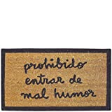 laroom 13550–Zerbino Prohibido entrar de Mal Humor, Colore: Marrone...