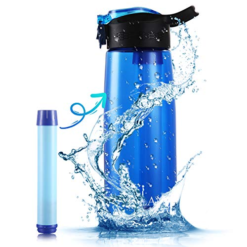 50% off 22 Ounce Water Bottle with Filter Add lightning deal price. No Promo Code Needed. 2