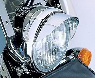 i5 Chrome 7-inch Headlight Visor for Harley Davidson Sportster Softail Dyna Road King Electra Tour Street Hydra Super Wide Glide V-Rod VRSC FXD FLD FLS FXS FX FL XL 883 1200