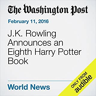 『J.K. Rowling Announces an Eighth Harry Potter Book』のカバーアート