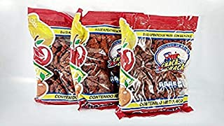 PACK 3 OF CHACA-CHACA AUTHENTIC CANDY OF FRUITS WITH SALT AND CHILI 400gram Mexican Candy with Free Chocolate Kinder Bar Included