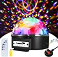 Disco Magic Ball Lights, ALED LIGHT LED Magic Stage LightsMusic Activated MP3 USB Player Effect Lights with Remote Control for Party Christmas Birthday Holiday Bar Decoration