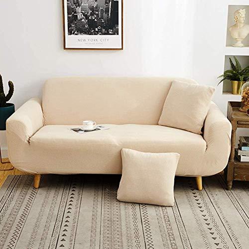 YAOWEI WERTY Estiramiento Sofá Cover, Antideslizante con Todo Incluido sofá Cubierta Cuatro Estaciones Cubierta Universal Completa Muebles Protector para la Tela de Cuero del sofá,7,145cm*185cm
