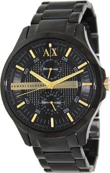 Armani Exchange Black Dial Men's Watch