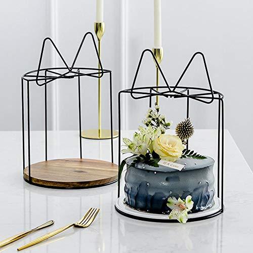 succeedw Metall Cupcake Halter, Cupcake Steht Hochzeitstorte Sockel, Cupcake Server Für Hochzeit Geburtstag Jubiläumsfeier Home Decor Serving Platter