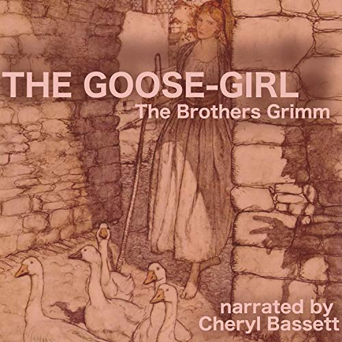 The Goose-Girl audiobook cover art