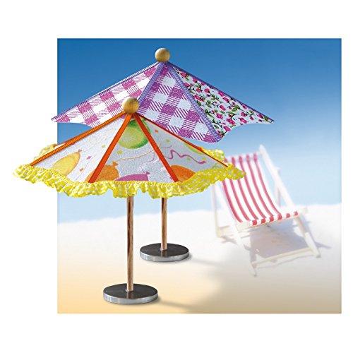 CREApop® Sonnenschirm 15 x 13 cm hoch , zum selberbasteln