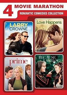 4 Movie Marathon: Romantic Comedies Collection (Larry Crowne / Love Happens / Prime / Because I Said So)