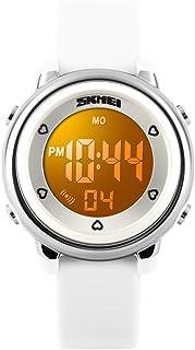 ساعات بنات IWOCH للصبيان ، ساعة رقمية رياضية مضادة للماء للأطفال من سن 4-5 5-7