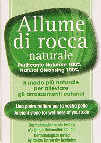 Allume di Rocca - Naturale, Purificante naturale 100% - 100 g
