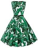 Grace KARIN - Vestido clásico de Audrey Hepburn con estilo clásico vintage de los años 50 y 60. Cl6086-66 S