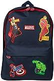 Sac A Dos Marvel Avengers pour Enfant, Sac D'École, Cartable Bleu Marine Thor Captain America Hulk Iron Man Sac Scolaire Officiel
