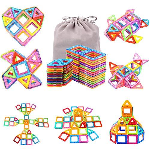 56 Pieces Juguetes de Construcción 3D Juegos Educativos para Niños Juguetes Educativos de Jardín de Infantes, Regalo de Cumpleaños para Niñas, Niño de 3 4 5 6 7 8 9 Años