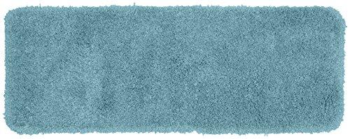 Garland Rug Serendipity Shaggy Washable Nylon Rug, 22-Inch by 60-Inch, Basin Blue