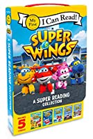 Super Wings: A Super Reading Collection: Cold Feet, A Super First Day, Lost Stars, Shark Surf Surprise, Airport Adventure (My First I Can Read)