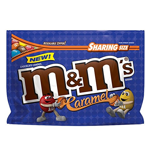 M&Ms Sharing Size Caramel Chocolate Candies - 9.6oz