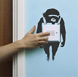 Kenden Quotes Wall Stickers Removable Vinyl Art Decal Banksy Light Switch