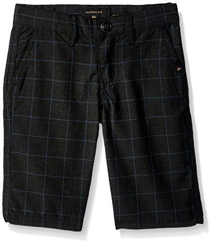 Quiksilver Jungen Regeneration Kids lässige Shorts, Dark Grey Heather, XL