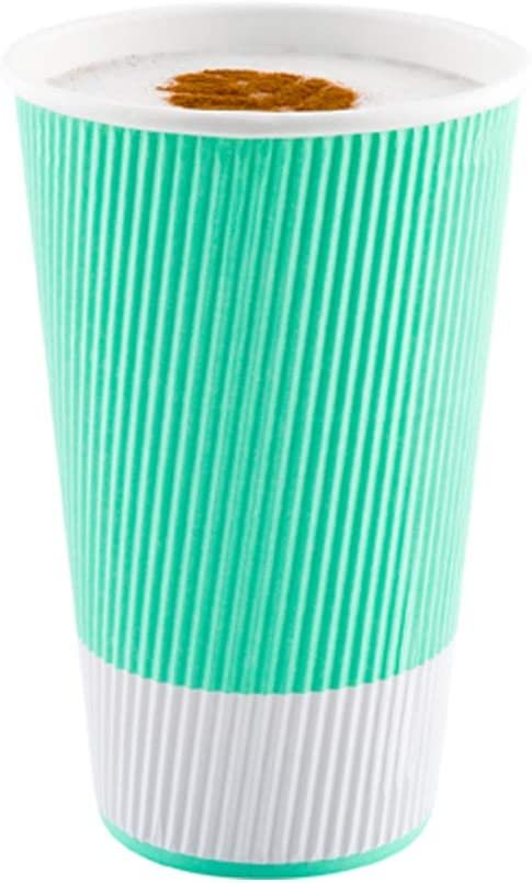 20 Ounce Paper Coffee Cups Wall Ripple 250 Cup Disposable 国内正規総代理店アイテム 大人気