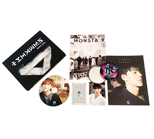 MONSTA X 5th Mini Album - The Code [ DE : CODE Ver. ] CD + Booklet + Personal booklet + Photocard + FREE GIFT / K-POP Sealed