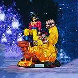 WXYXG Dragon Ball Spielzeug Statue Vierte Generation Super Saiyan Goku Animation Modell PVC...